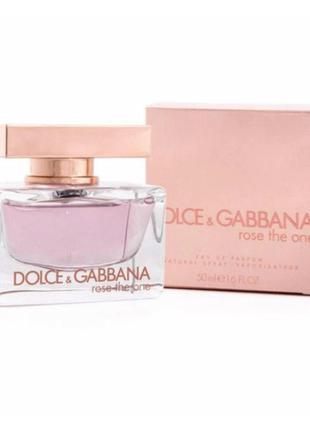 Женская туалетная вода Dolce & Gabbana The One Rose (Дольче Га...