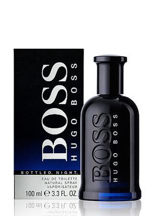 Мужская туалетная вода Hugo Boss Bottled Night (Хьюго Босс Бот...