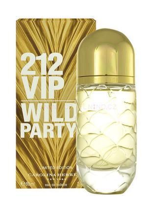 Парфюм для женщин Carolina Herrera 212 VIP Wild Party ( Кароли...
