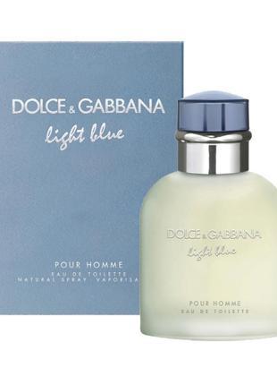 Мужской одеколон Dolce & Gabbana Light Blue Pour Homme (Дольче...