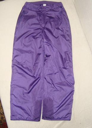 Теплые штаны 152/158