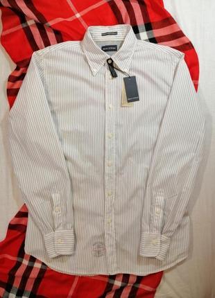 Новая рубашка marc o'polo с длинным рукавом белого цвета в пол...