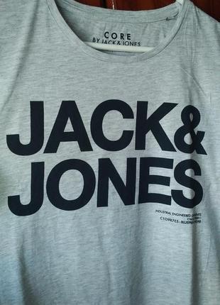 Футболка меландж jack & jones
