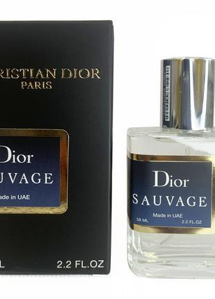 Тестер Christian Dior Sauvage 58мл (Кристиан Диор Саваж)