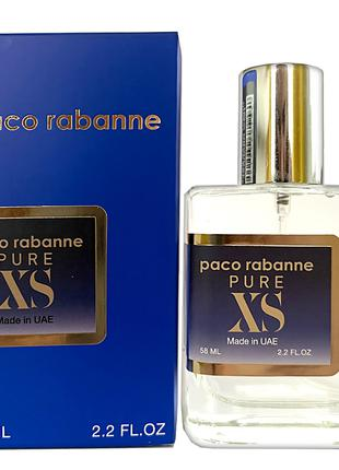 Тестер Paco Rabanne Pure XS ( Пако Рабанн пур xs 58мл)