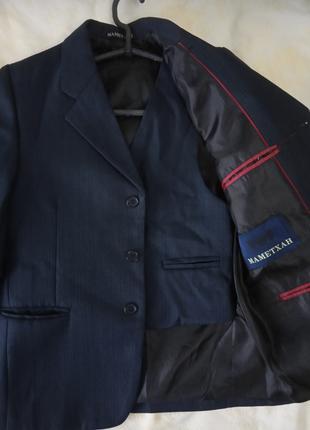 Пиджак с желеткой