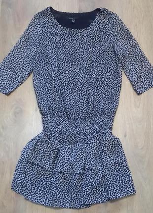 Платье - туника  *леопард*. mango. размер l