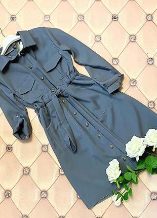 Платье-сафари инесса