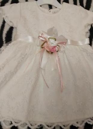 Платье нарядное на годик