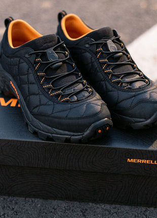Кроссовки Merrell Ice Cap Moc 2 Black\Orange ( ОРИГИНАЛ ) до - 25
