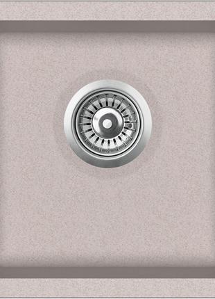 Мойка для кухни гранитная Aquasanita Arca SQA-100W-110 бежевый
