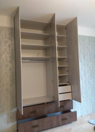 Изготовление распашного шкафа. От проекта до реализации.
