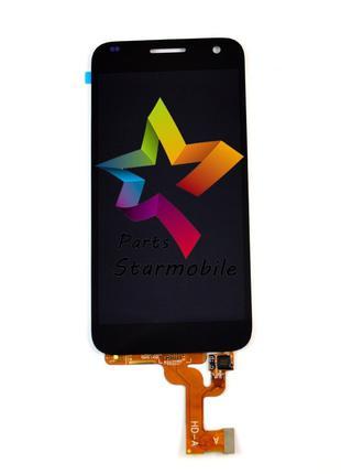 Дисплей Huawei G7 + сенсор черный (оригинальные комплектующие)