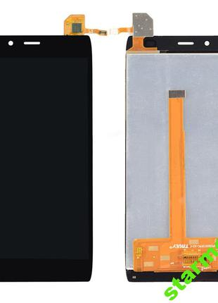 Дисплей Alcatel One Touch 6032X Idol Alpha Slate,черный с тачс...