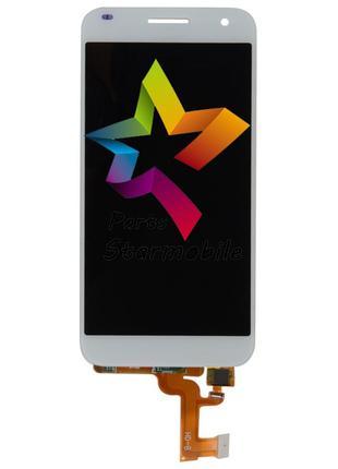 Дисплей Huawei G7 + сенсор белый (оригинальные комплектующие)