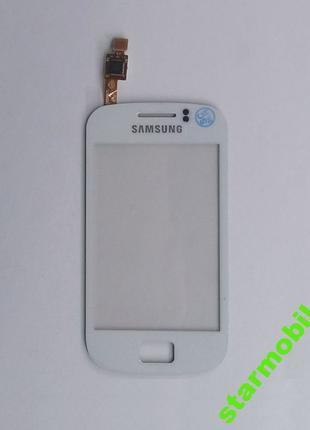 Сенсорный экран Samsung S6500 Galaxy Mini 2,белый