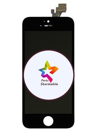 Дисплей iPhone 5 + сенсор черный (оригинальные комплектующие)