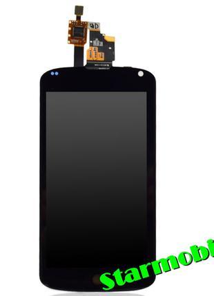 Дисплей для мобильного телефона LG E960/Nexus 4, черный, с тач...
