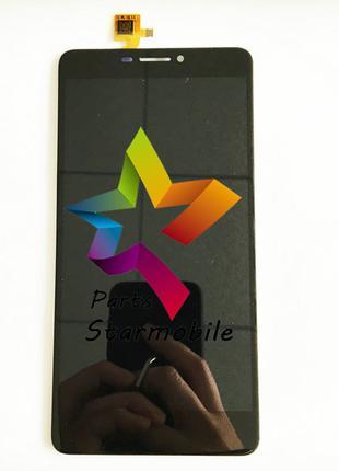 Дисплей (Модуль) для мобильного телефона Bluboo Dual, черный, ...
