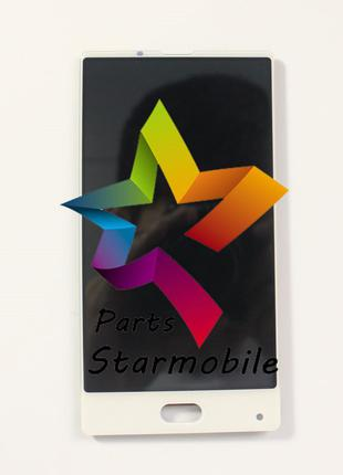 Дисплей (Модуль) для мобильного телефона Bluboo S1, белый, с т...