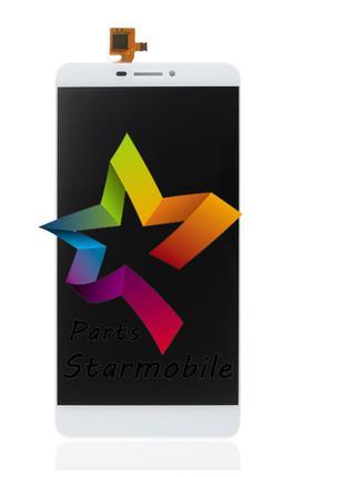 Дисплей (Модуль) для мобильного телефона Bluboo Dual, белый, с...