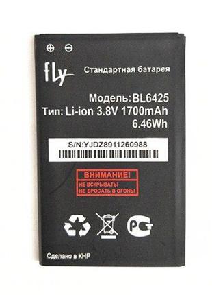 Аккумулятор BL-6425 (АКБ, батарея) Fly FS454 (Li-ion 3.8V 1700...