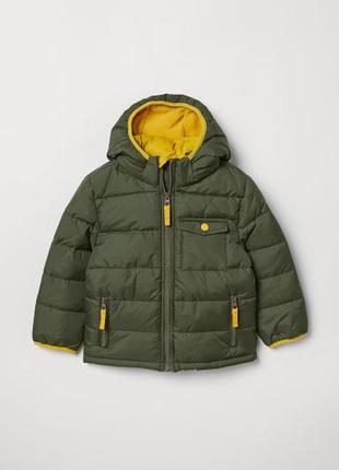 """Новая теплая брендовая куртка """"h&m"""" (швеция)."""