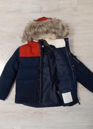"""Новая брендовая куртка """"h&m"""" р.128,134,140 (швеция)."""