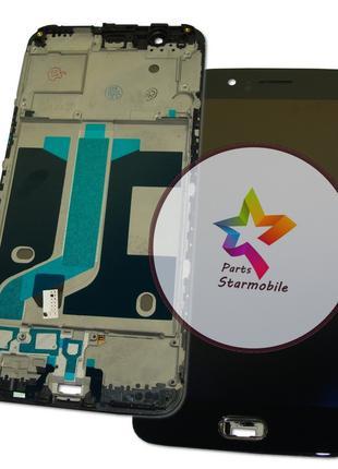Дисплей OnePlus 5 с сенсором и рамкой черный TFT
