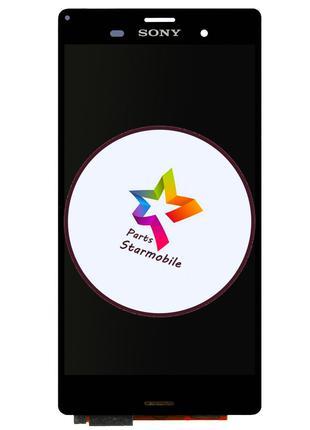Дисплей Sony D6653 Xperia Z3 + сенсор черный