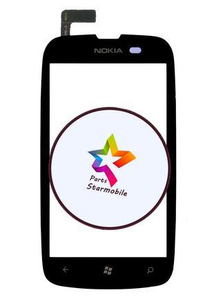 Сенсор (Тачскрин) для Nokia Lumia 610 (Черный)