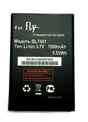Оригинальный аккумулятор (АКБ, батарея) для Fly IQ238/BL-7401,...