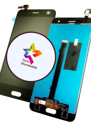 Дисплей сенсор для ZTE Blade V8, (Черный)