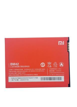 Аккумулятор BM42 (АКБ, батарея) Xiaomi Mi Note (Li-ion 3.8V 31...