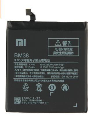 Аккумулятор BM38 (АКБ, батарея) Xiaomi Mi4s (Li-ion 3.8V 3210mAh)