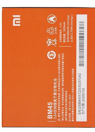 Аккумулятор BM45 (АКБ, батарея) Xiaomi RedMi Note 2 (Li-ion 3....