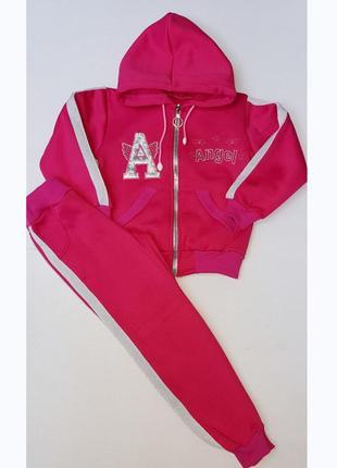 Теплые спортивные костюмы для девочек