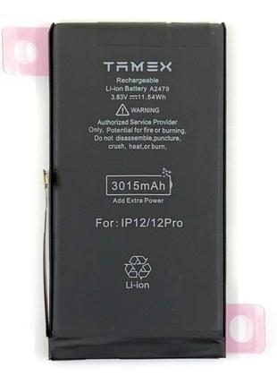 Аккумулятор TAMEX (АКБ, батарея) iPhone 12 Pro (Li-ion 3.83V 3...