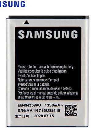 Аккумулятор EB494358VU (АКБ, батарея) Samsung S5660 Galaxy Gio...