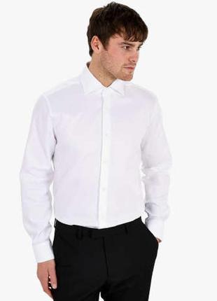 Идеальная белая рубашка regular fit