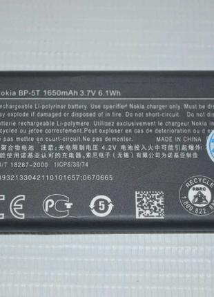 Оригинальный аккумулятор BP-5T для Nokia Lumia 820   825