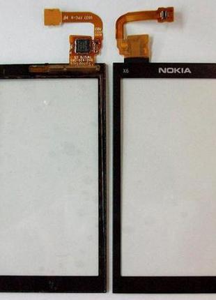 Оригинальный тачскрин / сенсор (сенсорное стекло) для Nokia X6...