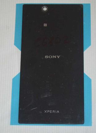Задняя черная крышка для Sony Xperia Z Ultra C6802 | C6806 | C...