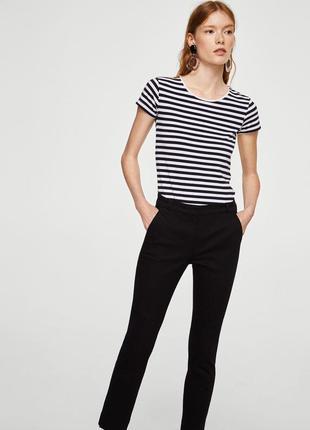 Черные чиносы/зауженные штаны/брюки slim fit