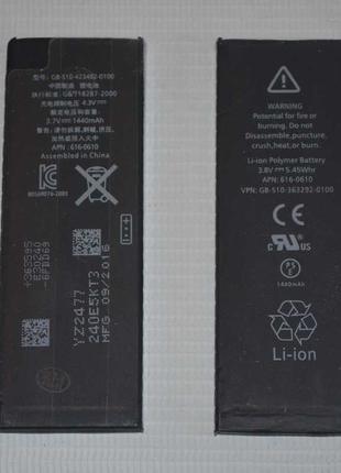 Оригинальный аккумулятор ( АКБ / батарея ) для Apple iPhone 5 ...