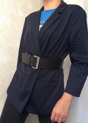 Темно-синий пиджак/жакет/блейзер/кардиган south