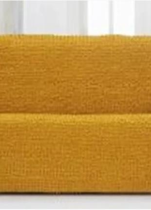 Накидка на диван №6 Желтая