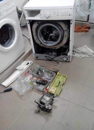 Ремонт стиральных машин с гарантией до 6 месяцев на дому у зак...