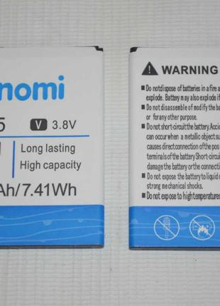 Оригинальный аккумулятор NB-55 для Nomi i505 Jet 1950mAh