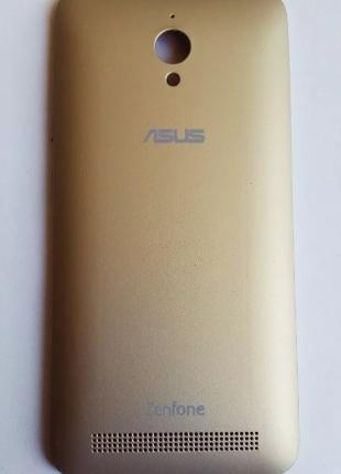 Задняя золотая крышка для Asus Zenfone Go ZC500TG